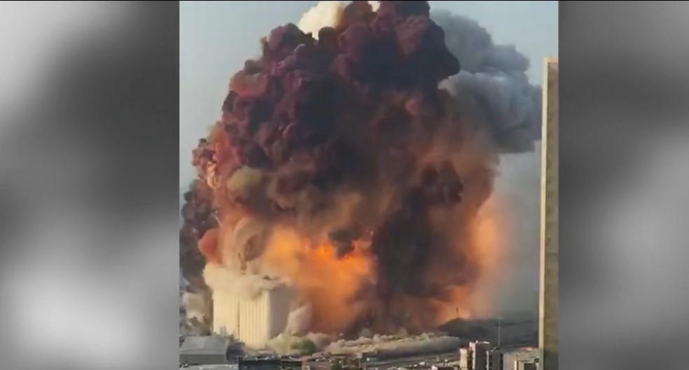 """Verheerende Explosion in Beirut - Trump: """"Es war eine Art Bombe"""""""