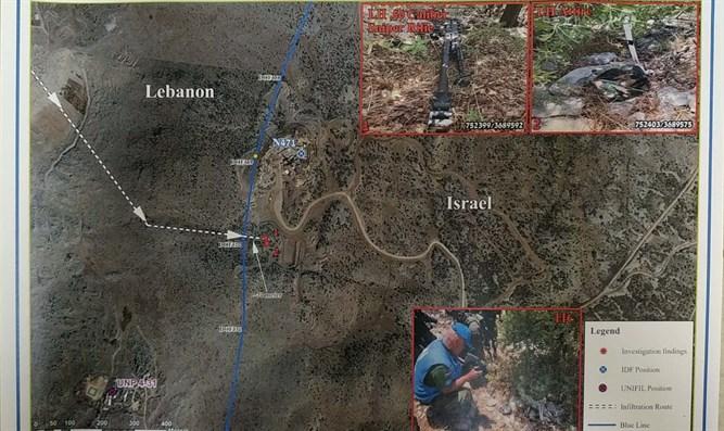 Der Israelische UN-Botschafter legt der UNO Beweise für die Infiltration der Hisbollah vor
