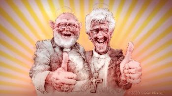 Endlich Frieden zwischen den Konfessionen!
