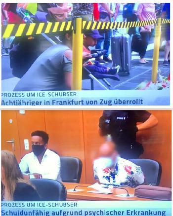 Zum Prozess-Auftakt gegen den Kindermörder vom Frankfurter Hauptbahnhof