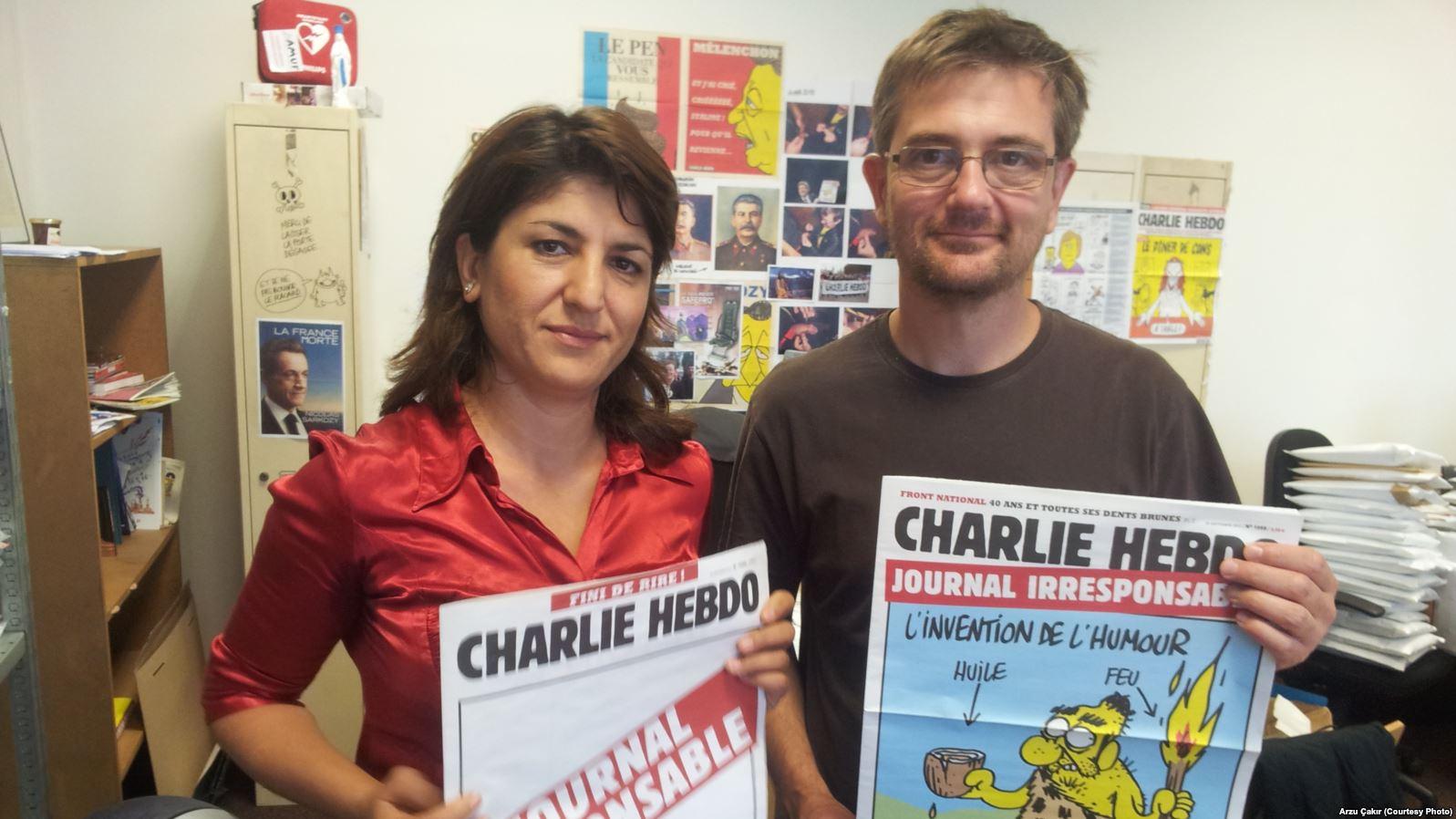 Charlie Hebdo wiederveröffentlicht Mohammed-Karikaturen
