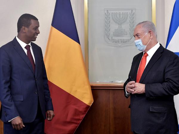 Delegation aus dem Tschad in Israel