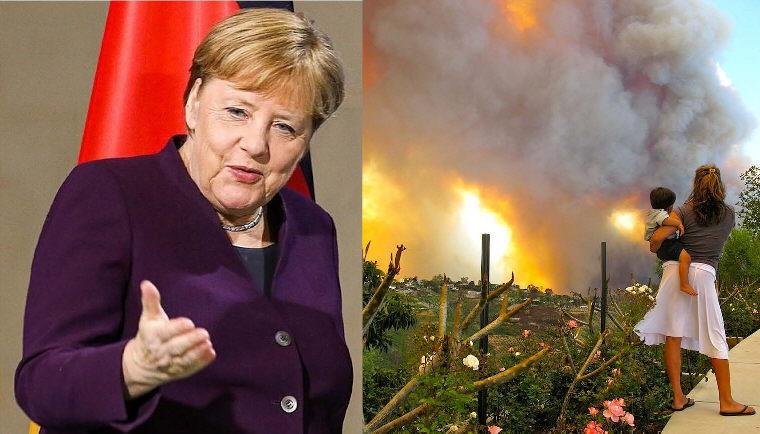 Moria: Deutschlands geistige Brandstifter buhlen um Aufnahme der Feuerteufel!