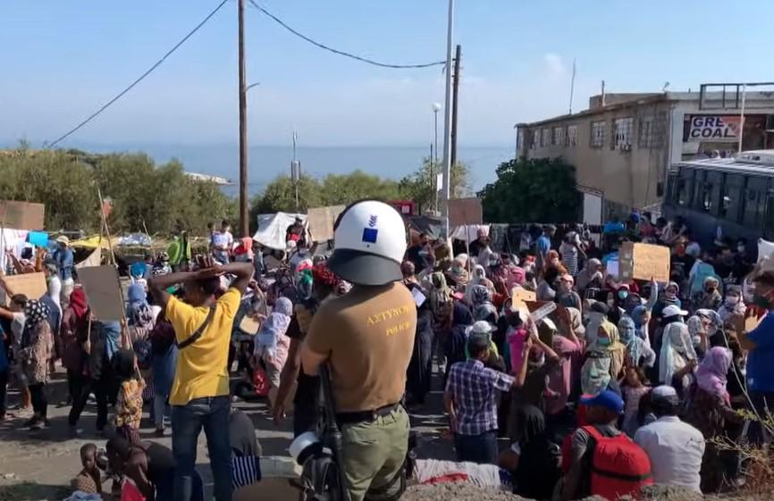 Wie auf Lesbos falsche Bilder erzeugt werden: Mit dabei Katrin Göring-Eckardt