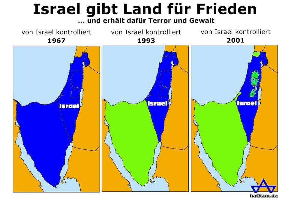 """Der Mythos des """"Land für Frieden"""""""