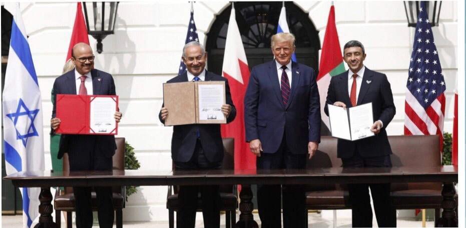 Trump, Netanyahu, die Emirate und Bahrain schreiben Geschichte