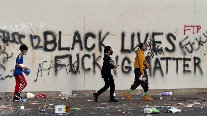 BLM: Lobgesang auf Plünderungen und Gewalt