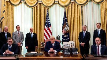 Trump machts möglich: Serbien und Kosovo verlegen Botschaften nach Jerusalem