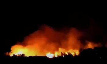Moria-Taktik wirkt: Brand beim Flüchtlingslager von Samos