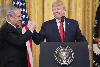 Als Trump Klartext über den Nahen Osten sprach