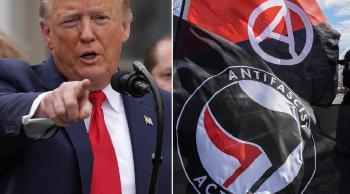 US-Regierung: Antifa und Ku-Klux-Klan als Terrororganisationen eingestuft