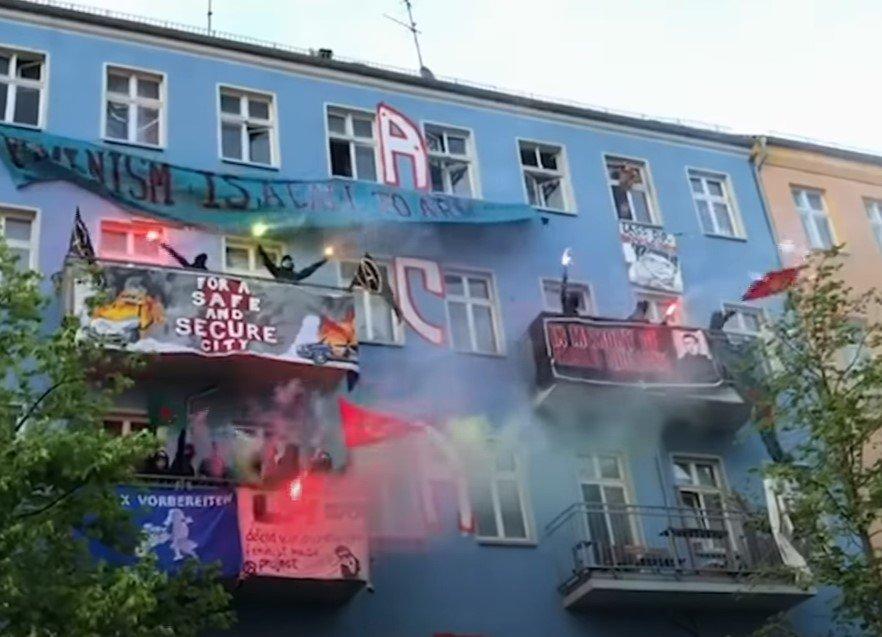 """""""LIebig34"""": Höchste Zeit linker Gewalt, Kriminalität und Terrorherrschaft ein Ende zu setzen! [Video]"""