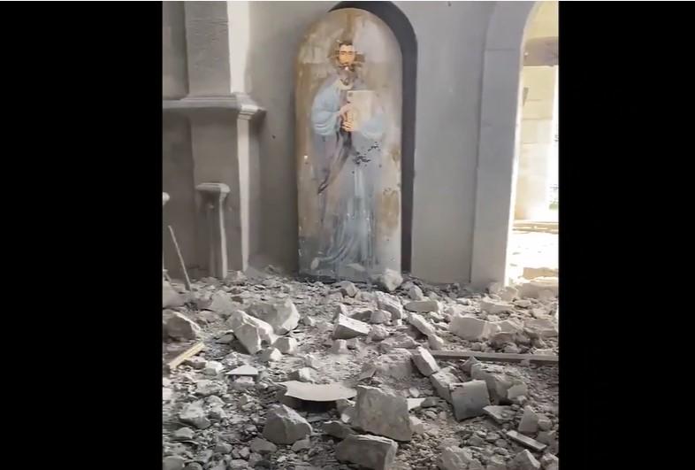 Angriff auf die christliche Tradition Armeniens: Kathedrale von Shusa verwüstet