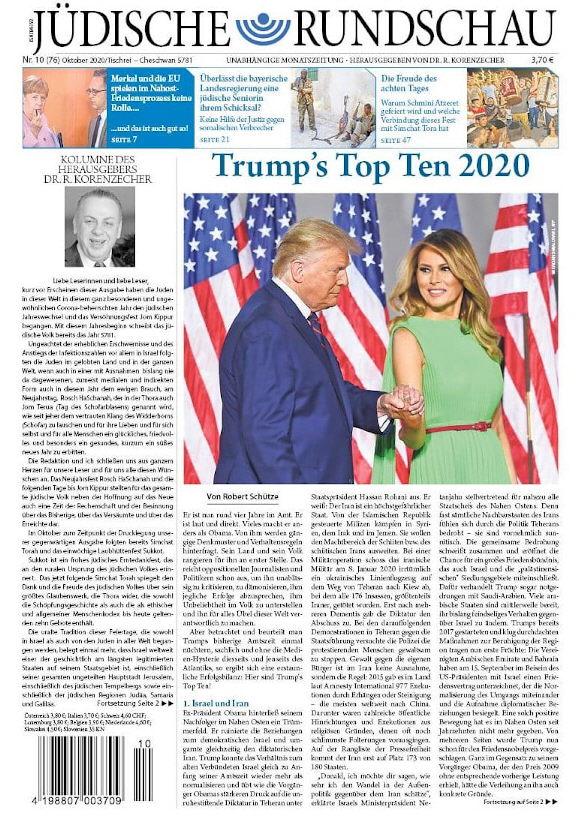 Jüdische Rundschau Oktober 2020