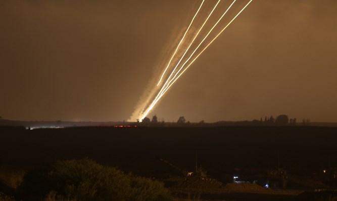 Rakete aus Gaza explodiert im offenen Gebiet im Süden Israels