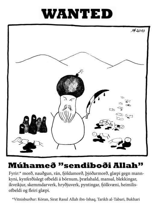 Enthauptet wegen Mohammed-Karikatur
