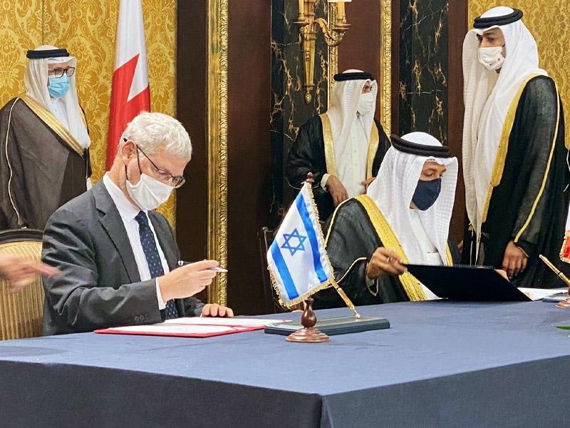 Israel und Bahrain unterzeichnen Vereinbarungen