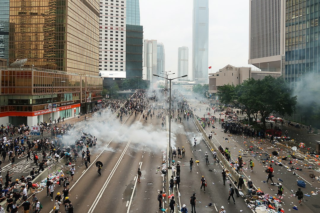 4 Demokratie-Aktivisten in Hongkong festgenommen