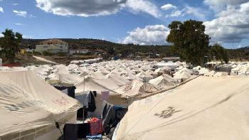 Moria, die Caritas und eineinhalb Millionen Euro