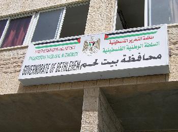 PA: Der israelische Bau könnte zur Apartheid führen.