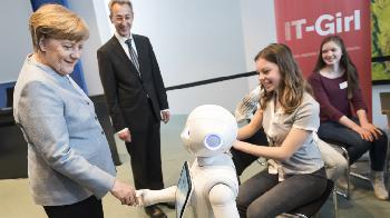 Merkels digitale Integration