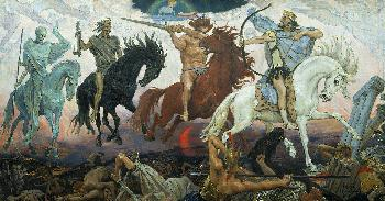Merkel und ihren apokalyptischen Reitern geht der Gaul durch