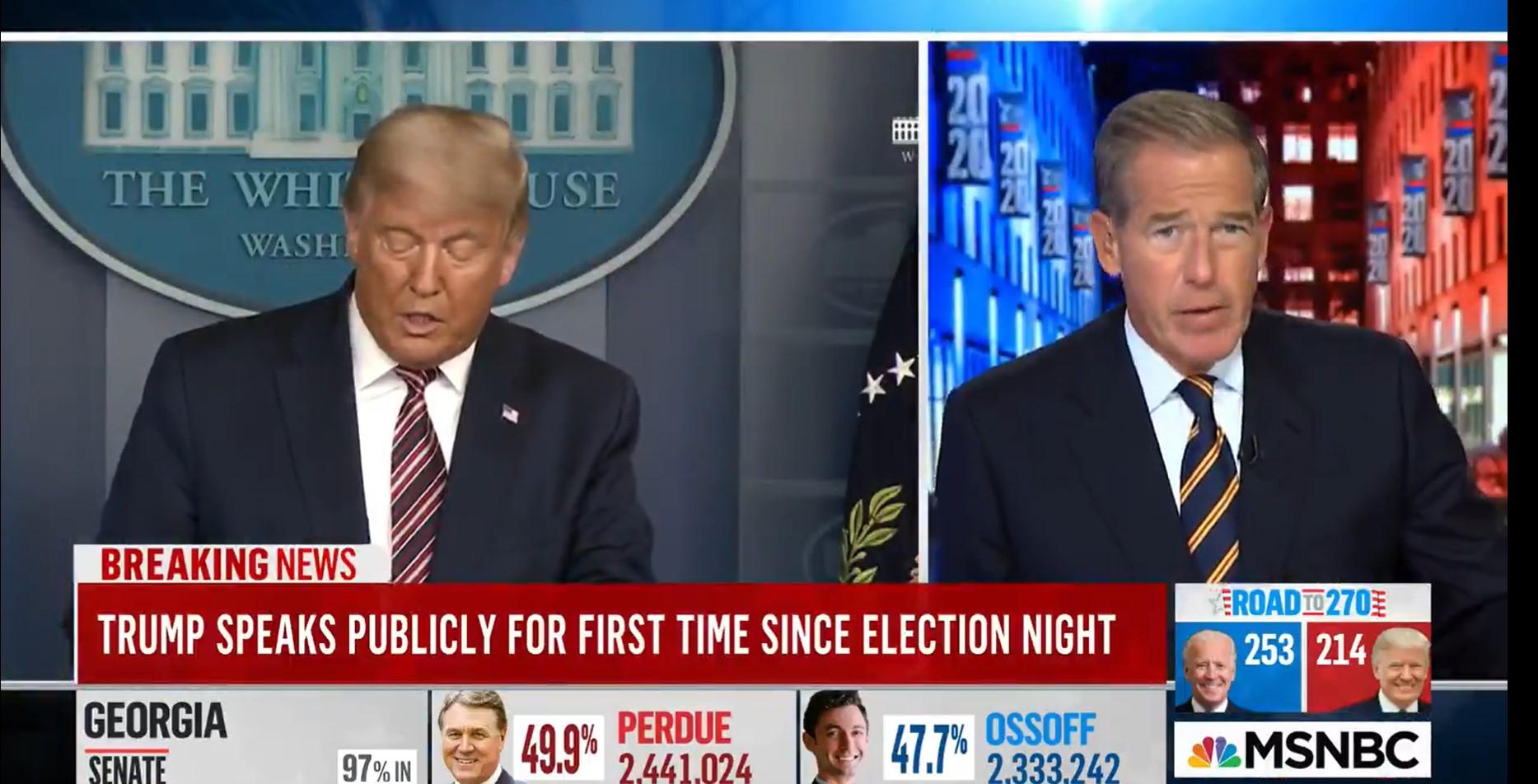 US-Medien versuchen alles um vermutlichen Wahlbetrug in den USA zu verheimlichen