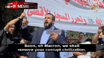 """Islamist am Tempelberg: """"Die einzige Antwort an Macron ist der Dschihad"""" [Video]"""