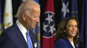 Juli 2021: Joe Biden erklärt sich (auf Druck) für amtsunfähig - Kamala Harris for President!