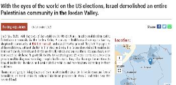 """Das """"Dorf"""", das Israel abriss, gab es vor gar nicht so langer Zeit noch nicht"""