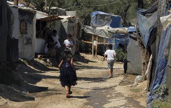 Erneut Brandstiftung im Migranten-Lager auf Samos