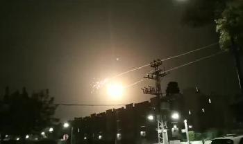 Hamas feuert Raketen auf den Süden Israels diese wurden vom Iron Dome abgefangen