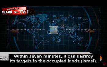 Das-iranische-Fernsehen-im-iranischen-Arsenal-fr-ballistische-Raketen-sagt-der-Erzhler-Raketen-fr-Israel-Video