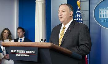 Pompeo: Alle Optionen stehen auf dem Tisch, um den Iran aufzuhalten