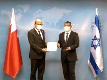 Bahrainische Delegation zu Besuch in Israel
