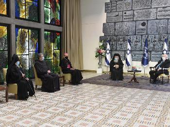 Rivlin trifft Vertreter christlicher Konfessionen