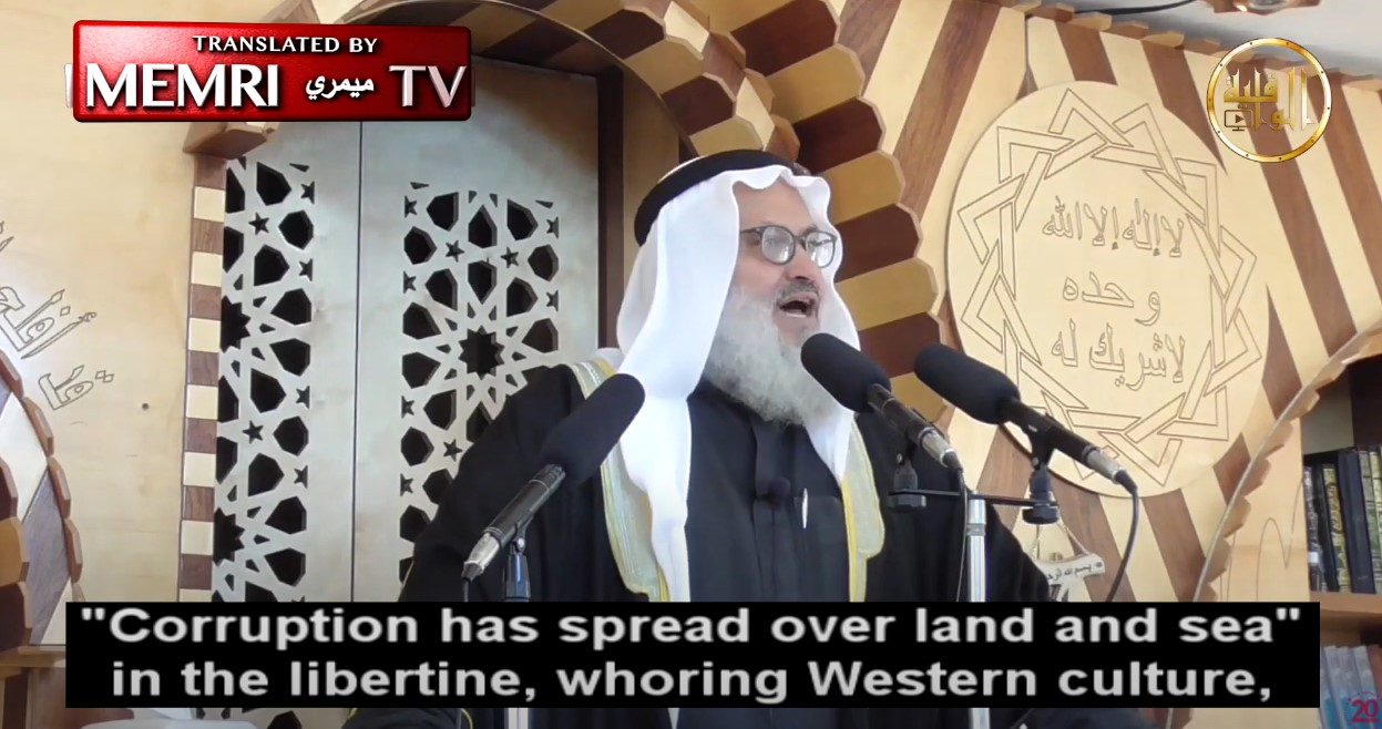 """Palästinensischer Prediger: Westliche Kultur ist bestialisch und """"verhurt"""" [Video]"""