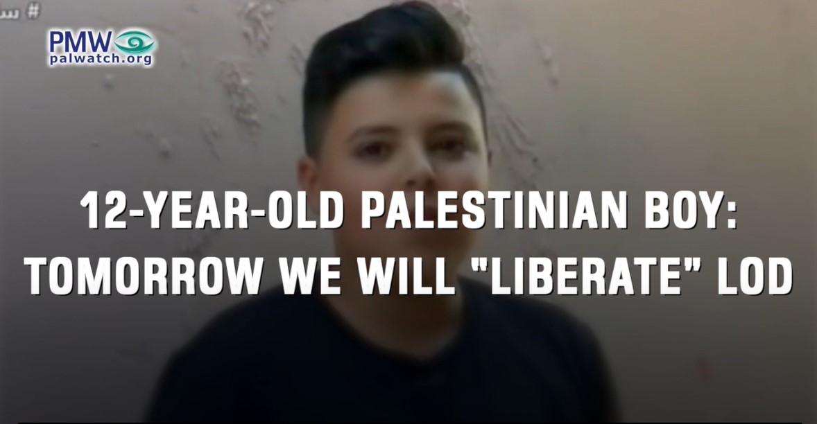 """Palästinensische Kinder werden gelehrt sich als """"Flüchtlinge"""" zu identifizieren, die dabei seien in israelische Städte """"zurückzukehren"""" [Video]"""