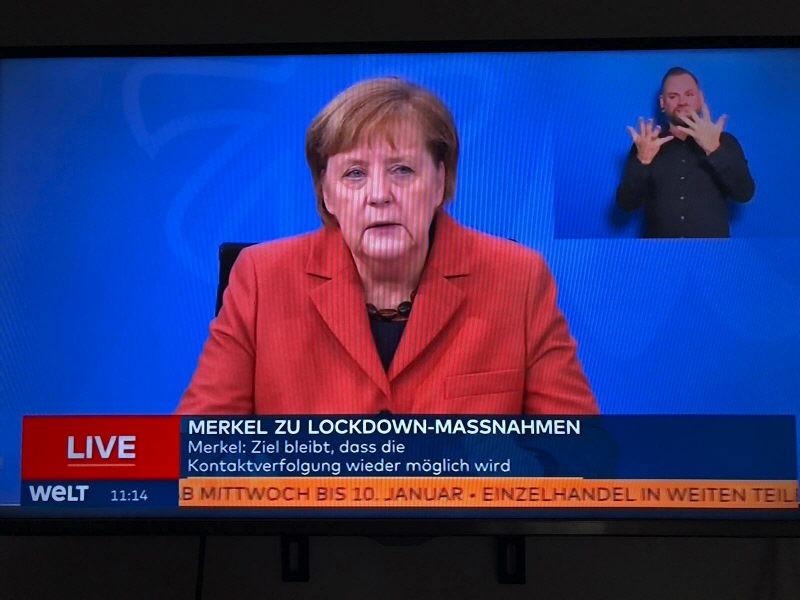 Merkel verkündet harten Lockdown ab Mittwoch