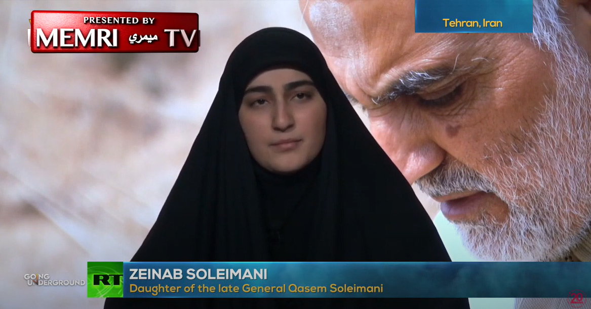Soleimanis Tochter: Trump ist das Monster, nicht mein Vater [Video]