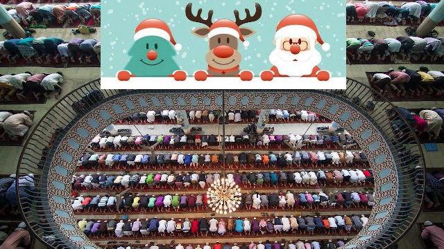 Weihnachts-Gottesdienste verbieten, aber Freitagsgebete durchwinken?