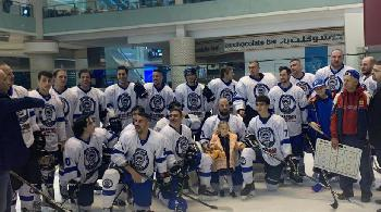 Eishockey: Israel spielt in Dubai [Video]