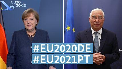Deutschland übergibt EU-Ratspräsidentschaft an Portugal
