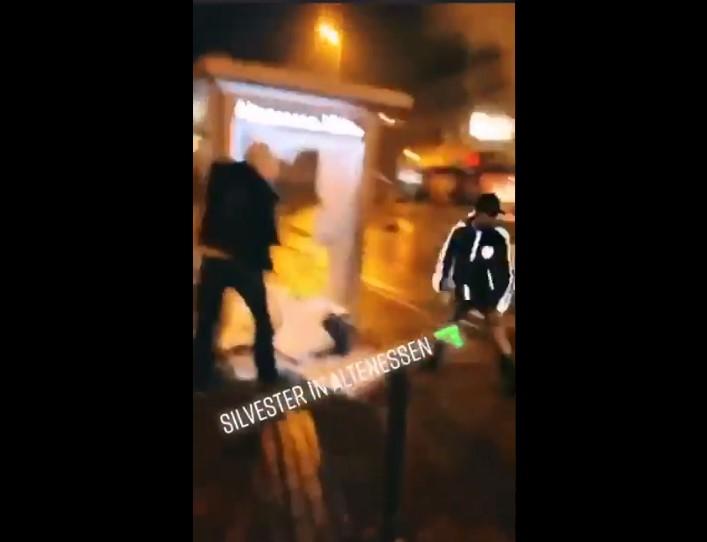 Video: Jugendliche randalieren in Altenessen – ungeheure Zerstörungswut