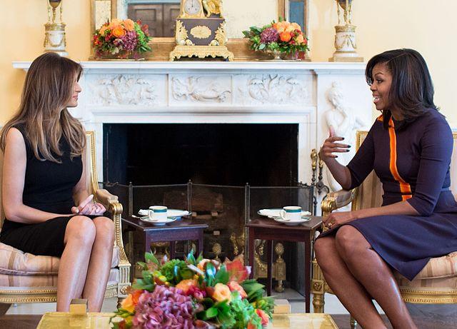 Michelle Obama fordert Social-Media-Sites auf, Trump dauerhaft zu verbieten
