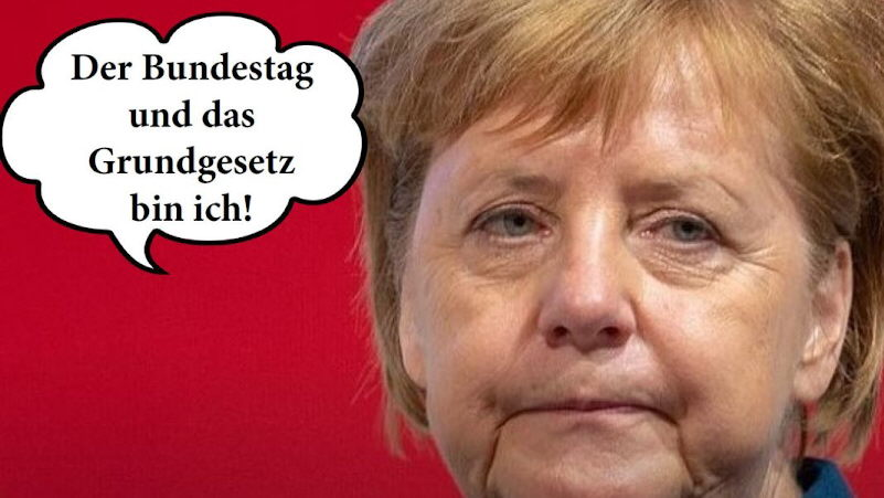 Macht ist geil: Merkels Lockdown-Orgie geht morgen in die nächste Runde!