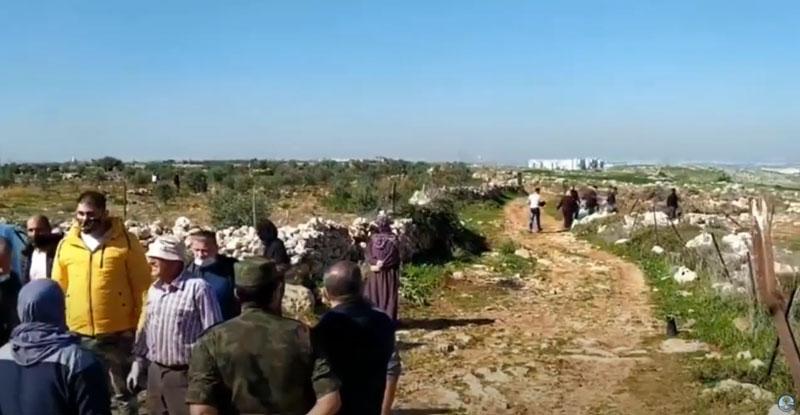 """Wie die Palästinensische Autonomiebehörde den Tu Bshvat-Feiertag """"feiert"""" [Video]"""