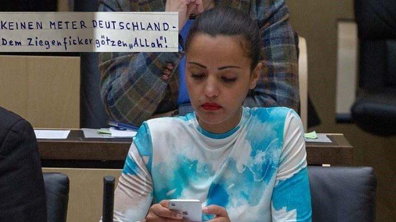Bei Allah! Sawsan Chebli macht islamfeindlichen Brief öffentlich!