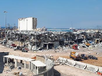 """Libanon: """"Zeitpunkt der Explosion im Hafen von Beirut ist verdächtig"""""""