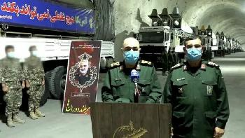 Iran präsentiert unterirdische Raketenbasis
